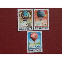 Монголия 1982г. Авиация.