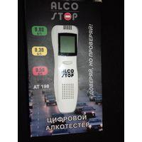 """Алкотестер цифровой """"ALCO-STOP"""" АТ-198 новый"""