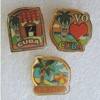 Значки Кубы. 3шт.