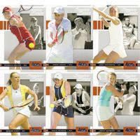 6 карточек по коллекции: Ace Authentic Signature Series 2005.(Теннис)