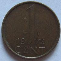 Нидерланды, 1 цент 1972 г