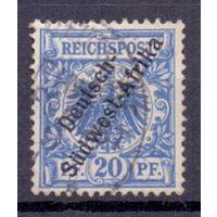 Германия Юго-Западная Африка 20 пф ГАШ 1897 г