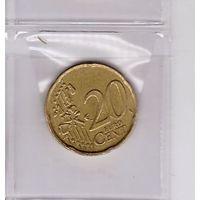 20 евроцентов 2002 Бельгия. Возможен обмен