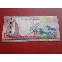 1 динар Бахрейн