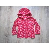 Кофта флисовая SELA, для девочки 2-3 лет