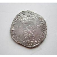 Таллер 1708г. (серебряный дукат) Западная Фрисландия вес. 27.25 гр. все с 1 руб.