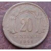 5127:  20 сентаво 1948 Чили