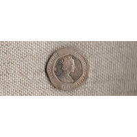 Гибралтар 20 пенсов 2012(Xt)