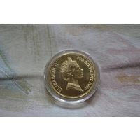 Памятная монета 80 лет Елизавете II