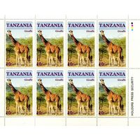 Танзания, 1986г, звери, 2 листа