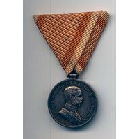 Медаль За Храбрость 2 степени серебро Франца-Иосифа 1 WW1 Оригинал