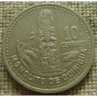 10 сентаво 2000 Гватемала
