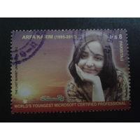 Пакистан 2012 известная женщина