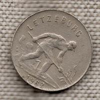 Люксембург 1 франк 1962 / Символом промышленности