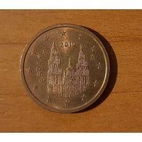 2 евроцента 2010 Испания