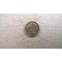 Польша 1 грош, 2007г.