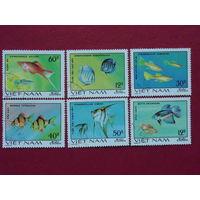 Вьетнам 1980г. Рыбы.