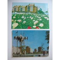 Клайпеда; 2 открытки - 1978, 1980; чистые.