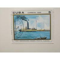 Куба 1990. 25-летие почтового музея.