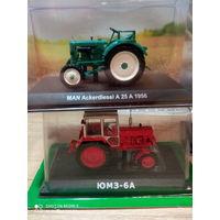 Тракторы: история, люди, машины 130 - ЮМЗ-6АК  + 75 - Аккердизель А25А