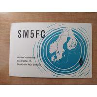 QSL-карточка из Швеции