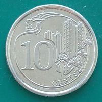 10 центов 2013 СИНГАПУР