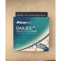 Контактные линзы Alcon Dailies Aqua Comfort Plus ежедневные +3,50