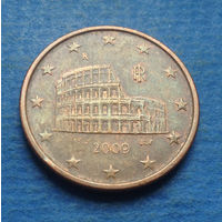 Италия 5 евроцентов 2009
