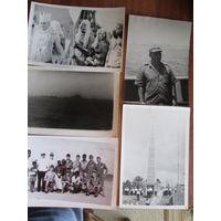 Фото.Советские моряки в дальнем походе.1976г