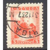 Латвия башня флаг стандарт