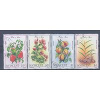 [1253] Сент Винсент 1985. Флора.Пряные растения. Гашеная серия.