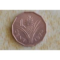 Свазиленд 1 цент 1974