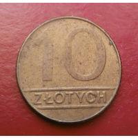 10 злотых 1989 Польша #01