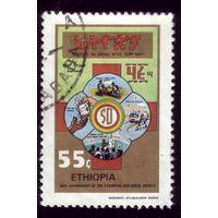 1 марка 1985 год Эфиопия Красный Крест 1213