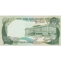 Южный Вьетнам 100 донг 1972
