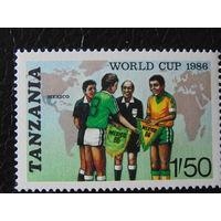 Танзания 1986г. Спорт.
