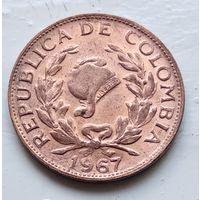Колумбия 5 сентаво, 1967  4-10-49