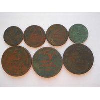 Сборный лот монет 1924 года