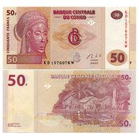 Конго. 50 франков 2013 г. [P.97A]  UNC