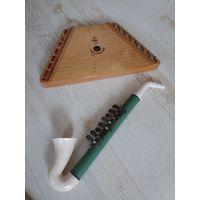 Цимбалы и саксофон из детства, одним лотом.