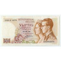 Бельгия, 50 франков 1966 год.