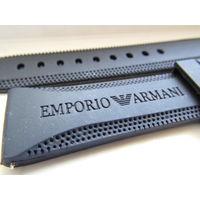 Ремешок каучуковый для наручных часов ARMANI (22 мм)