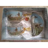 Чайная пара из Англии для охотников)