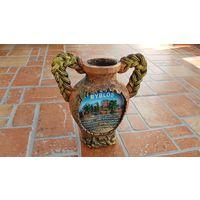BYBLOS - ваза-кувшин для интерьера / высота 15,5 см