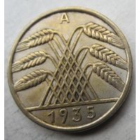 Германия. 10 рейхспфеннигов 1935 A .95