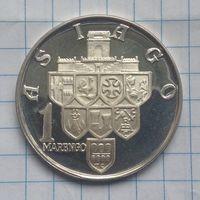 Италия городской выпуск 1 маренго серебро.