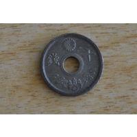 Япония 10 сенов 1944