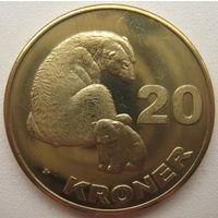 Гренландия 20 крон 2010 г.