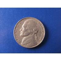 5 центов 1964 СШA медно-никелевый сплав #203