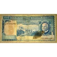 1000 эскудо 1962г